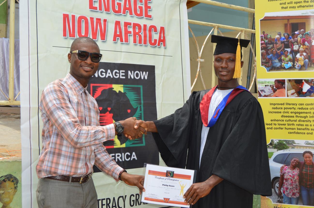 Upper Weija Literacy Graduaction Ceremony15