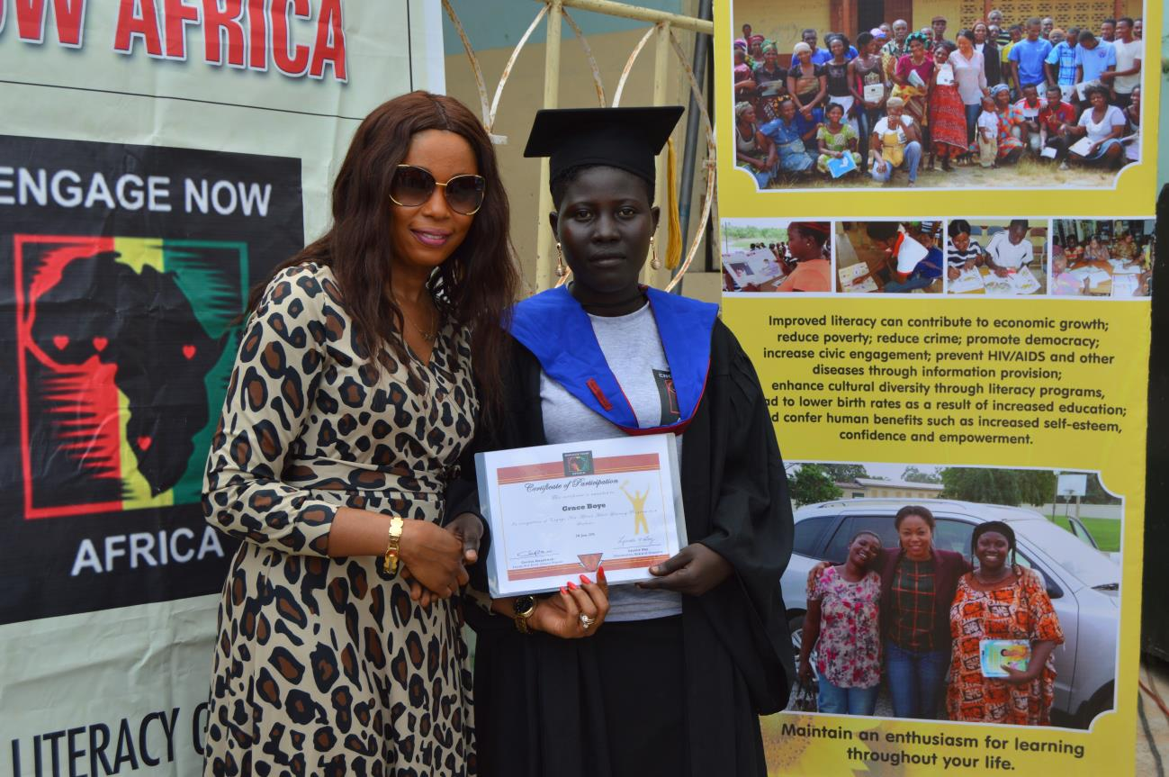 Upper Weija Literacy Graduaction Ceremony17