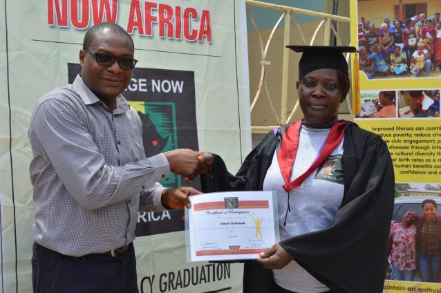 Upper Weija Literacy Graduaction Ceremony2