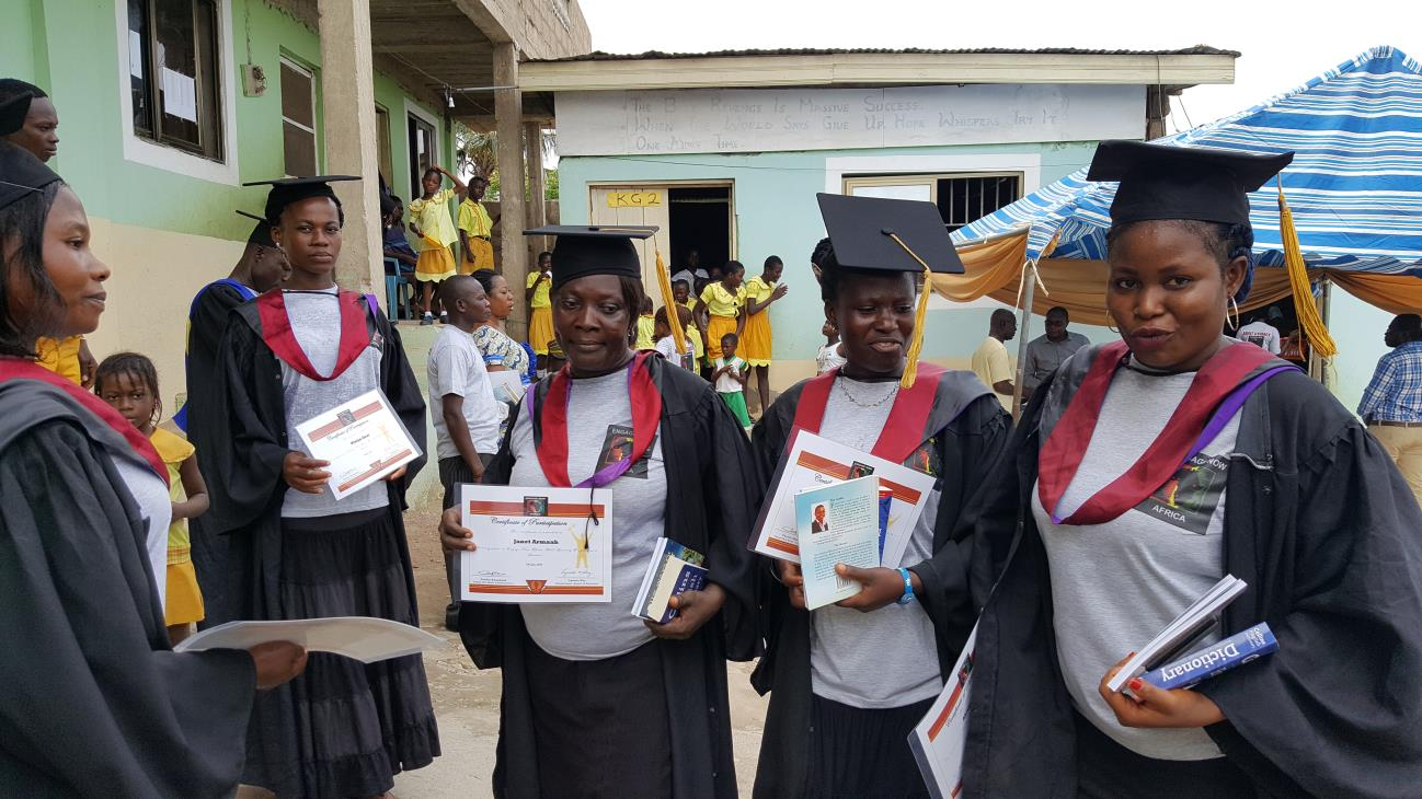 Upper Weija Literacy Graduaction Ceremony8